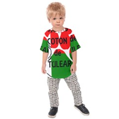 Coton Name Madagascar Paw Flag Kids Raglan Tee