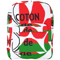 Coton Name Madagascar Paw Flag Full Print Backpack