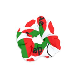 Coton Name Madagascar Paw Flag Velvet Scrunchie
