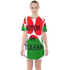 Coton Name Madagascar Paw Flag Mini Dress