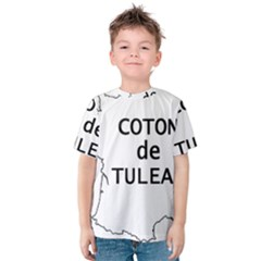 France Outline W Name Kids  Cotton Tee