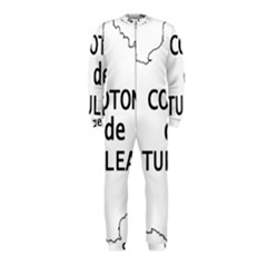 France Outline W Name Onepiece Jumpsuit (kids)