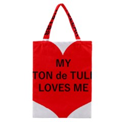 My Coton Loves Me Classic Tote Bag