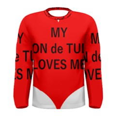 My Coton Loves Me Men s Long Sleeve Tee