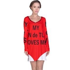 My Coton Loves Me Long Sleeve Nightdress