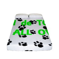 My Coton Walks On Me Fitted Sheet (full/ Double Size)
