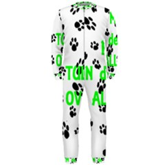 My Coton Walks On Me Onepiece Jumpsuit (men)