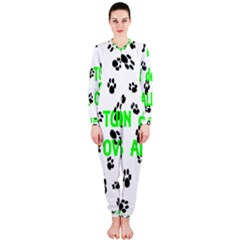 My Coton Walks On Me Onepiece Jumpsuit (ladies)