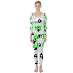 My Coton Walks On Me Long Sleeve Catsuit