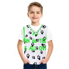 My Coton Walks On Me Kids  Sportswear