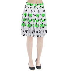 My Coton Walks On Me Pleated Skirt