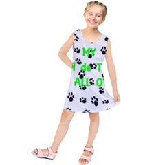My Coton Walks On Me Kids  Tunic Dress