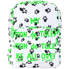 My Coton Walks On Me Full Print Backpack