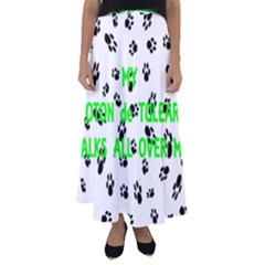 My Coton Walks On Me Flared Maxi Skirt