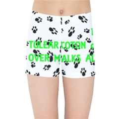 My Coton Walks On Me Kids Sports Shorts