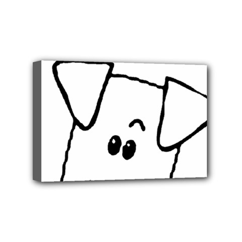 Peeping Coton Mini Canvas 6  X 4