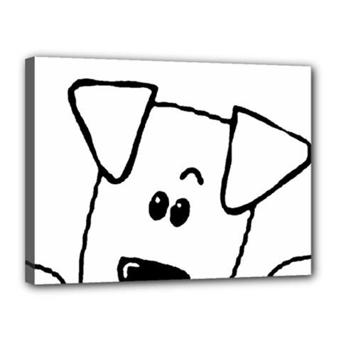 Peeping Coton Canvas 16  X 12