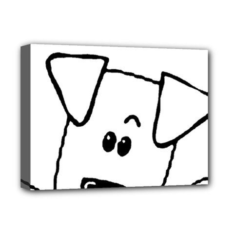 Peeping Coton Deluxe Canvas 16  X 12