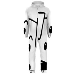 Peeping Coton Hooded Jumpsuit (men)