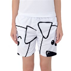 Peeping Coton Women s Basketball Shorts