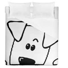 Peeping Coton Duvet Cover (queen Size)