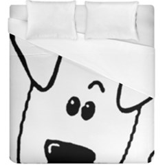 Peeping Coton Duvet Cover (king Size)