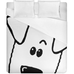 Peeping Coton Duvet Cover (california King Size)