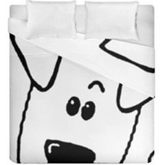 Peeping Coton Duvet Cover Double Side (king Size)