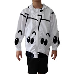 Peeping Coton Hooded Wind Breaker (kids)