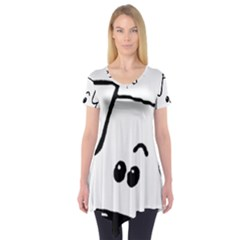 Peeping Coton Short Sleeve Tunic