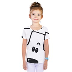 Peeping Coton Kids  One Piece Tee