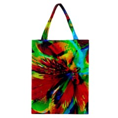 Flowers With Color Kick 1 Classic Tote Bag