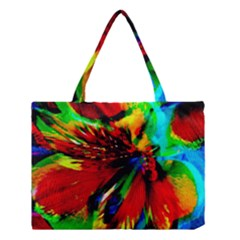Flowers With Color Kick 1 Medium Tote Bag