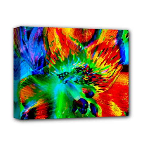 Flowers With Color Kick 2 Deluxe Canvas 14  X 11