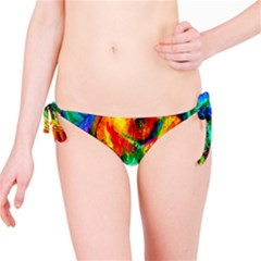 Flowers With Color Kick 2 Bikini Bottom