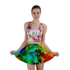 Flowers With Color Kick 2 Mini Skirt