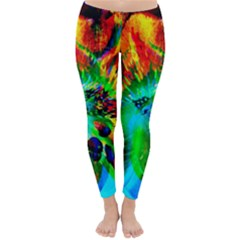 Flowers With Color Kick 2 Classic Winter Leggings