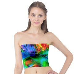 Flowers With Color Kick 2 Tube Top