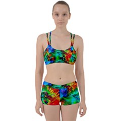 Flowers With Color Kick 2 Women s Sports Set