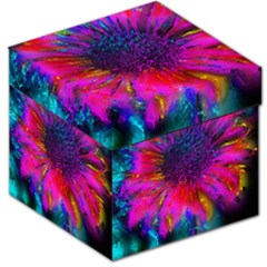 Flowers With Color Kick 3 Storage Stool 12