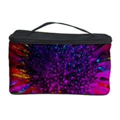 Flowers With Color Kick 3 Cosmetic Storage Case