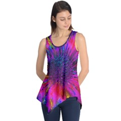 Flowers With Color Kick 3 Sleeveless Tunic