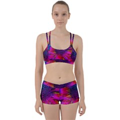 Flowers With Color Kick 3 Women s Sports Set