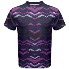 Geometric Pattern 173 C2 170302 Men s Cotton Tee