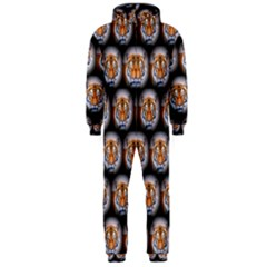 Cute Animal Drops   Tiger Hooded Jumpsuit (men)