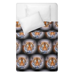 Cute Animal Drops   Tiger Duvet Cover Double Side (single Size)