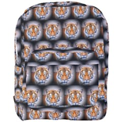 Cute Animal Drops   Tiger Full Print Backpack