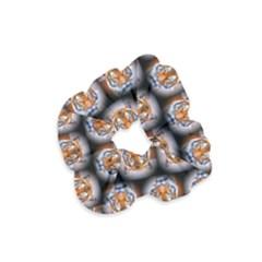 Cute Animal Drops   Tiger Velvet Scrunchie