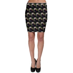 Cute Animal Drops   Red Panda Bodycon Skirt