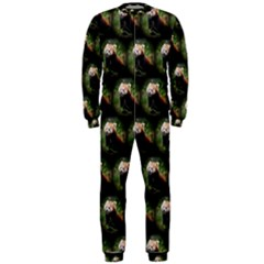 Cute Animal Drops   Red Panda Onepiece Jumpsuit (men)
